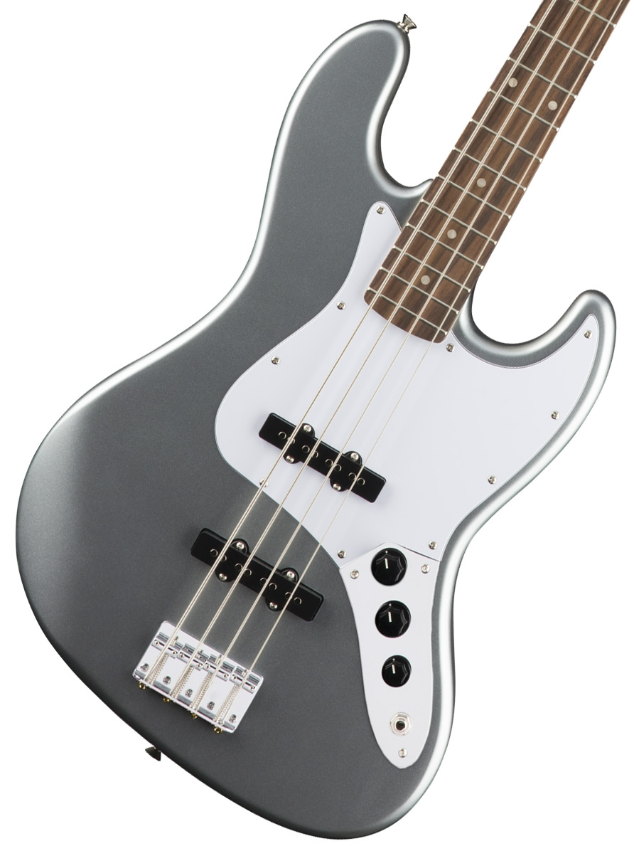 【タイムセール:29日12時まで】Squier by Fender / Affinity Jazz Bass Slick Silver Laurel Fingerboard【限定モデル】
