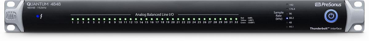 PreSonus プレソナス / Quantum 4848 Thunderbolt 2 オーディオ・インターフェース【お取り寄せ商品】