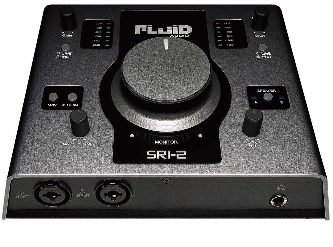 Fluid Audio フルイドオーディオ / SRI-2 USBオーディオインターフェース【YRK】