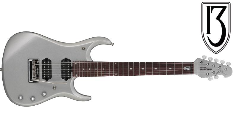 MUSIC MAN / JP13-7 Platinum Silver ミュージックマン エレキギター ジョン・ペトルーシ・シグネイチャー 【お取り寄せ商品】