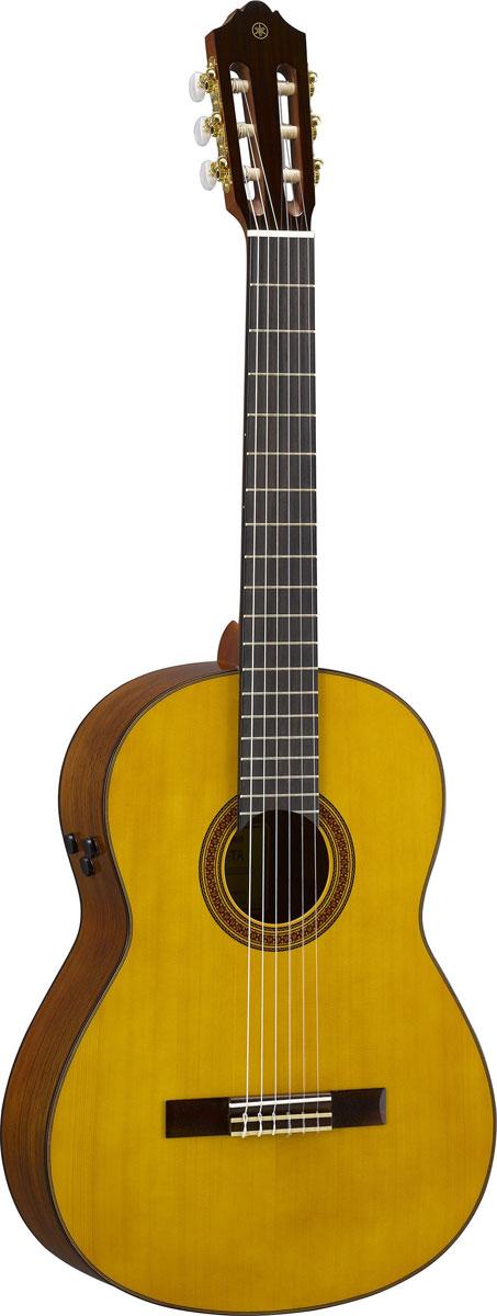 【在庫有り】 YAMAHA / CG-TA NT(ナチュラル) 【新製品】【TransAcoustic】 ヤマハ クラシックギター エレガット ナイロンストリングス 《ギグケース付属!/+811089300》【YRK】