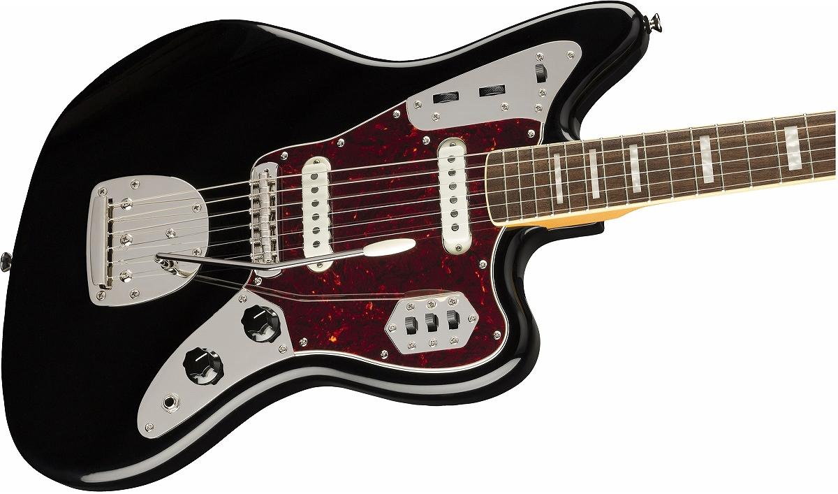 Squier / Classic Vibe 70s Jaguar Laurel Fingerboard Black スクワイヤー