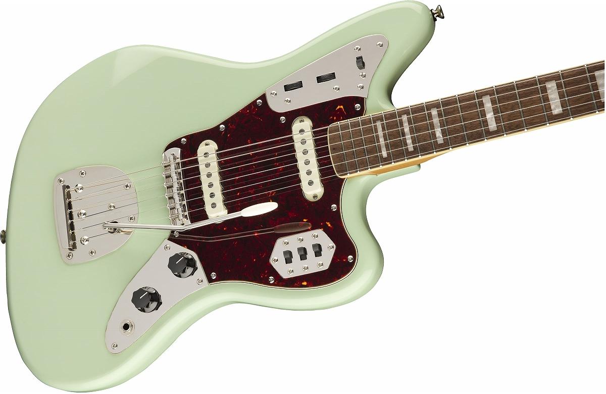 Squier / Classic Vibe 70s Jaguar Laurel Fingerboard Surf Green スクワイヤー
