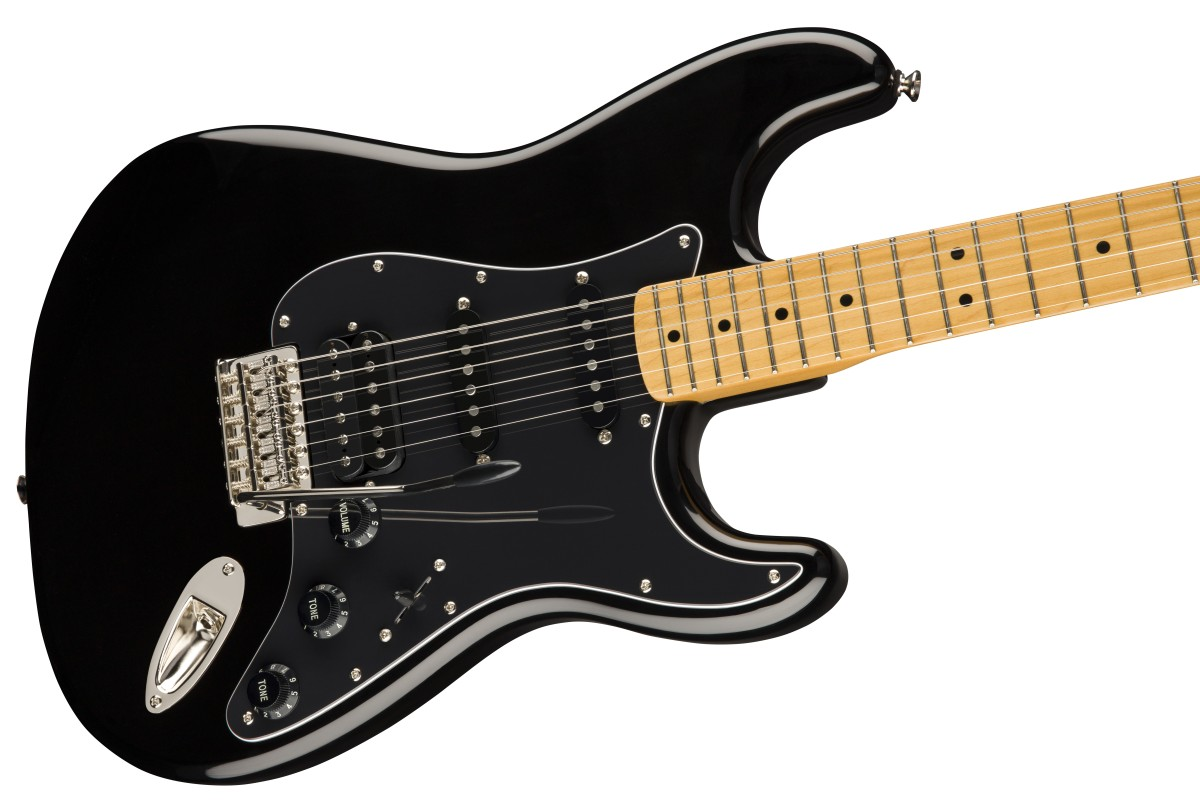 Squier / Classic Vibe 70s Stratocaster HSS Maple Fingerboard Black スクワイヤー