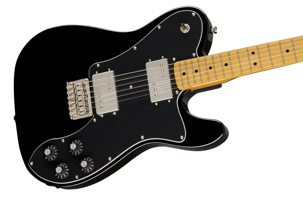 Squier / Classic Vibe 70s Telecaster Deluxe Maple Fingerboard Black スクワイヤー
