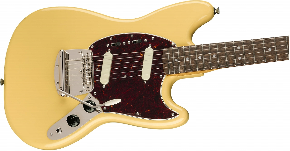 Squier / Classic Vibe 60s Mustang Laurel Fingerboard Vintage White スクワイヤー