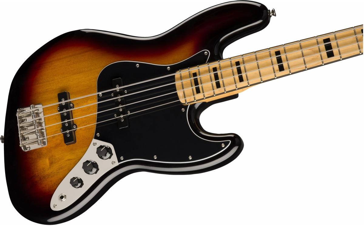 Squier / Classic Vibe 70s Jazz Bass Maple Fingerboard 3-Color Sunburst スクワイヤー エレキベース