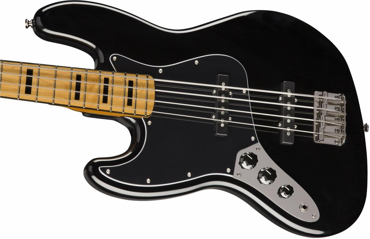 【タイムセール:28日12時まで】Squier / Classic Vibe 70s Jazz Bass Left-Handed Maple Fingerboard Black スクワイヤー エレキベース