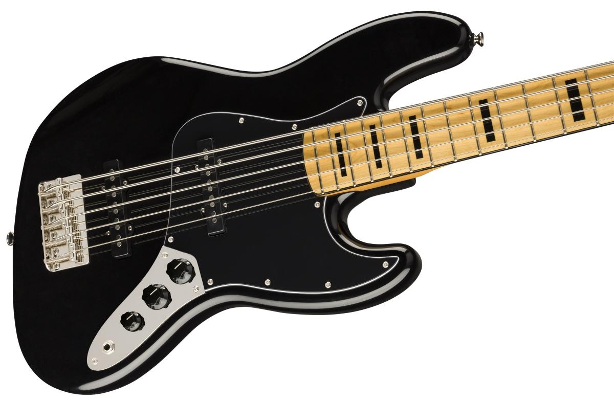 Squier / Classic Vibe 70s Jazz Bass V Maple Fingerboard Black スクワイヤー エレキベース