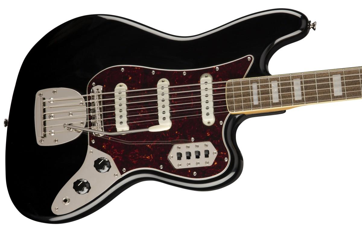Squier / Classic Vibe Bass VI Laurel Fingerboard Black スクワイヤー