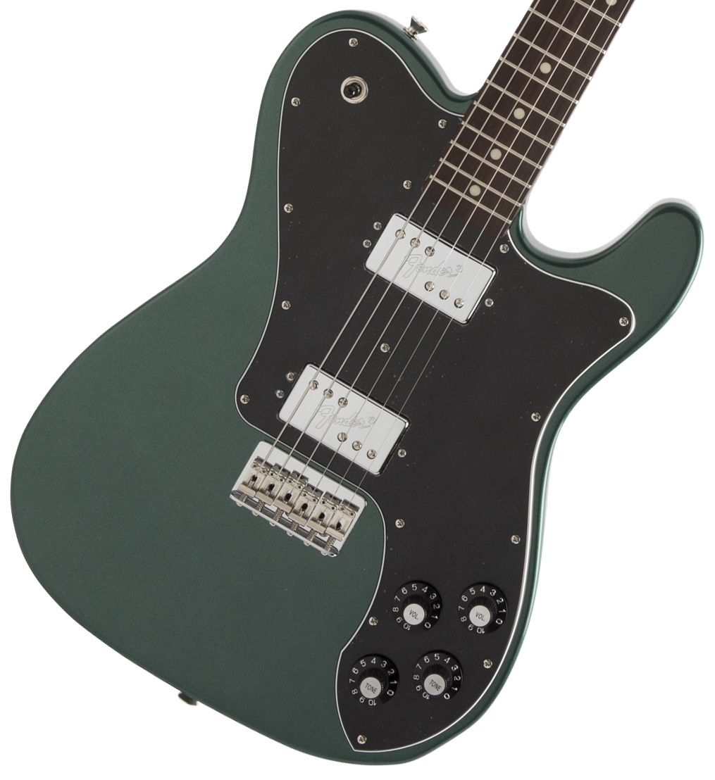 Fender / Made in Japan Hybrid Telecaster Deluxe Rosewood Fingerboard Sherwood Green Metallic《純正チューナーとピック12枚プレゼント!/+811179700》