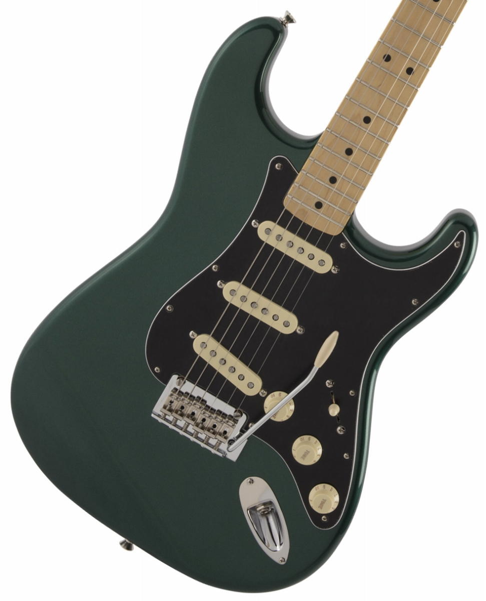【タイムセール:29日12時まで】Fender / Made in Japan Hybrid 68 Stratocaster Maple Fingerboard Sherwood Green Metallic《純正ケーブル&ピック1ダースプレゼント!/+661944400》