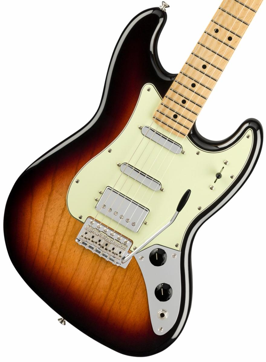 Fender / Sixty-Six Maple Fingerboard 3-Color Sunburst