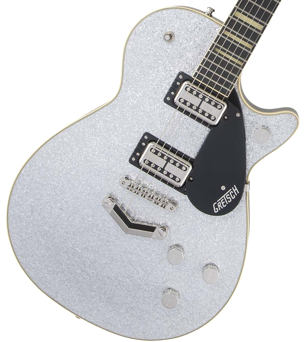 Gretsch / G6229 Players Edition Jet BT with V-Stoptail Silver Sparkle グレッチ【お取り寄せ商品】