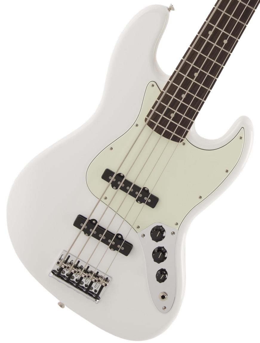 Fender / Made in Japan Hybrid Jazz Bass V Arctic White