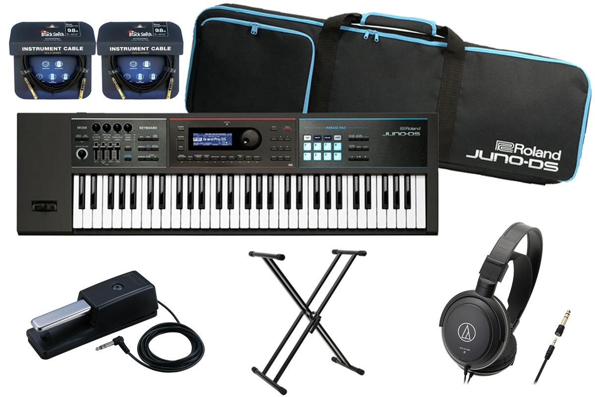 Roland ローランド / JUNO-DS61【数量限定 DP-10 スタートセット!】シンセサイザー (JUNO-DS)【YRK】