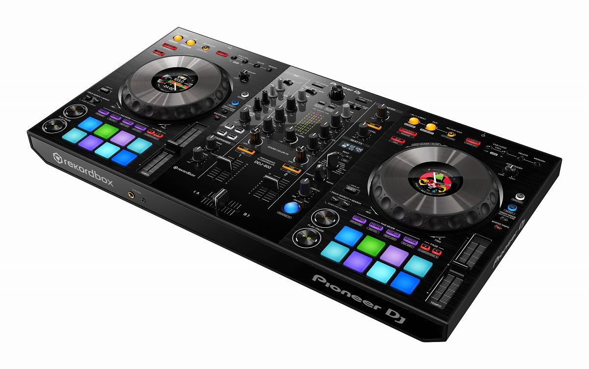 Pioneer DJ パイオニア / DDJ-800 パフォーマンスDJコントローラー【PNG】