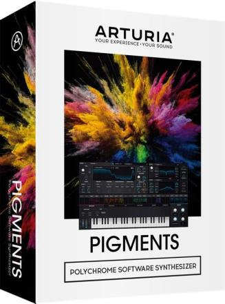 Arturia アートリア / Pigments ウェーブテーブル/ヴァーチャルアナログ・ソフトウェアシンセサイザー【お取り寄せ商品】