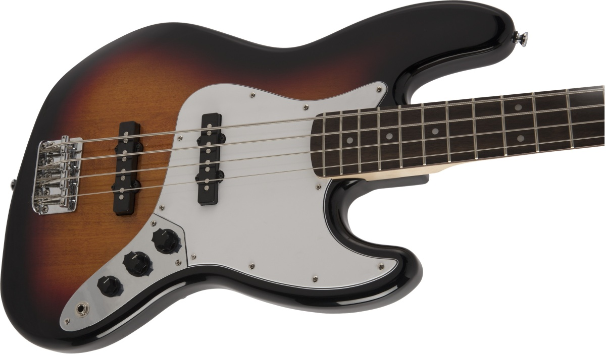 【タイムセール:29日12時まで】Squier by Fender / Affinity Jazz Bass Laurel Fingerboard 3-Color Sunburst【限定カラー】
