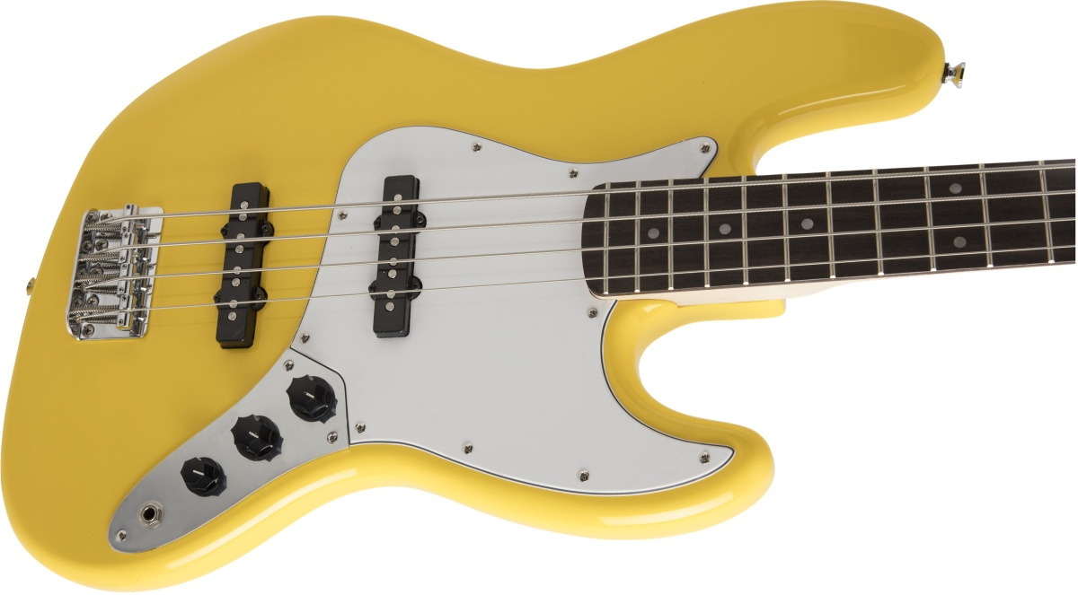 Squier by Fender / Affinity Jazz Bass Laurel Fingerboard Graffiti Yellow【限定カラー】
