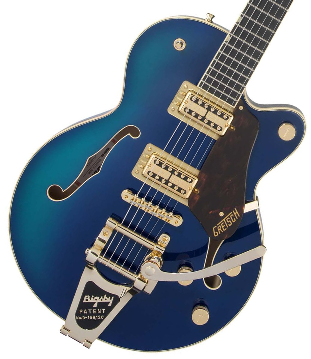 Gretsch / G6659TG Players Edition Broadkaster Jr. Center Block Single-Cut Azure Metallic グレッチ 【お取り寄せ商品】