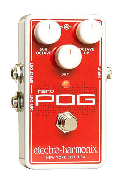 【タイムセール:7月2日12時まで】Electro Harmonix / NANO POG Polyphonic Octave Generator