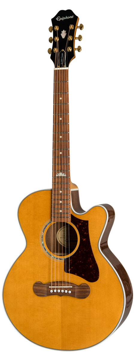 Epiphone/ EJ-200 エレアコ Coupe VN(Vintage Natural) エピフォン アコギ エレアコ Coupe アコギ EJ200 《純正アクセサリーセット進呈/+811162500》, ウイスキー専門店 蔵人クロード:4e56d51a --- data.gd.no