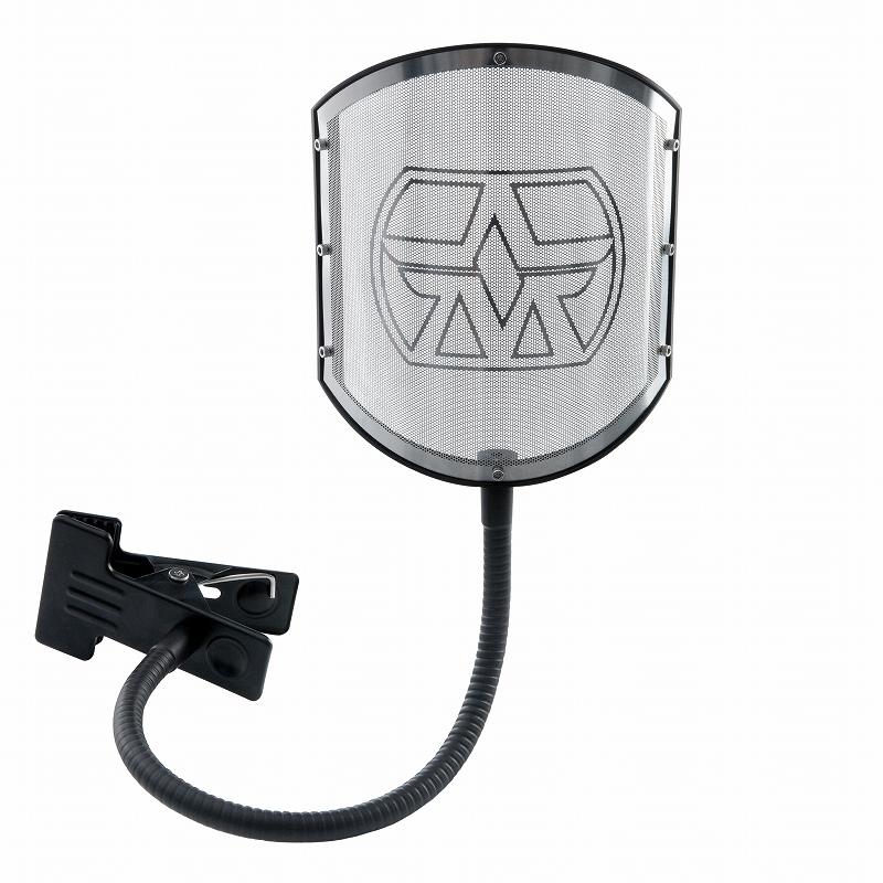 ASTON MICROPHONES / Aston Shield with Gooseneck ポップガード【お取り寄せ商品】【YRK】