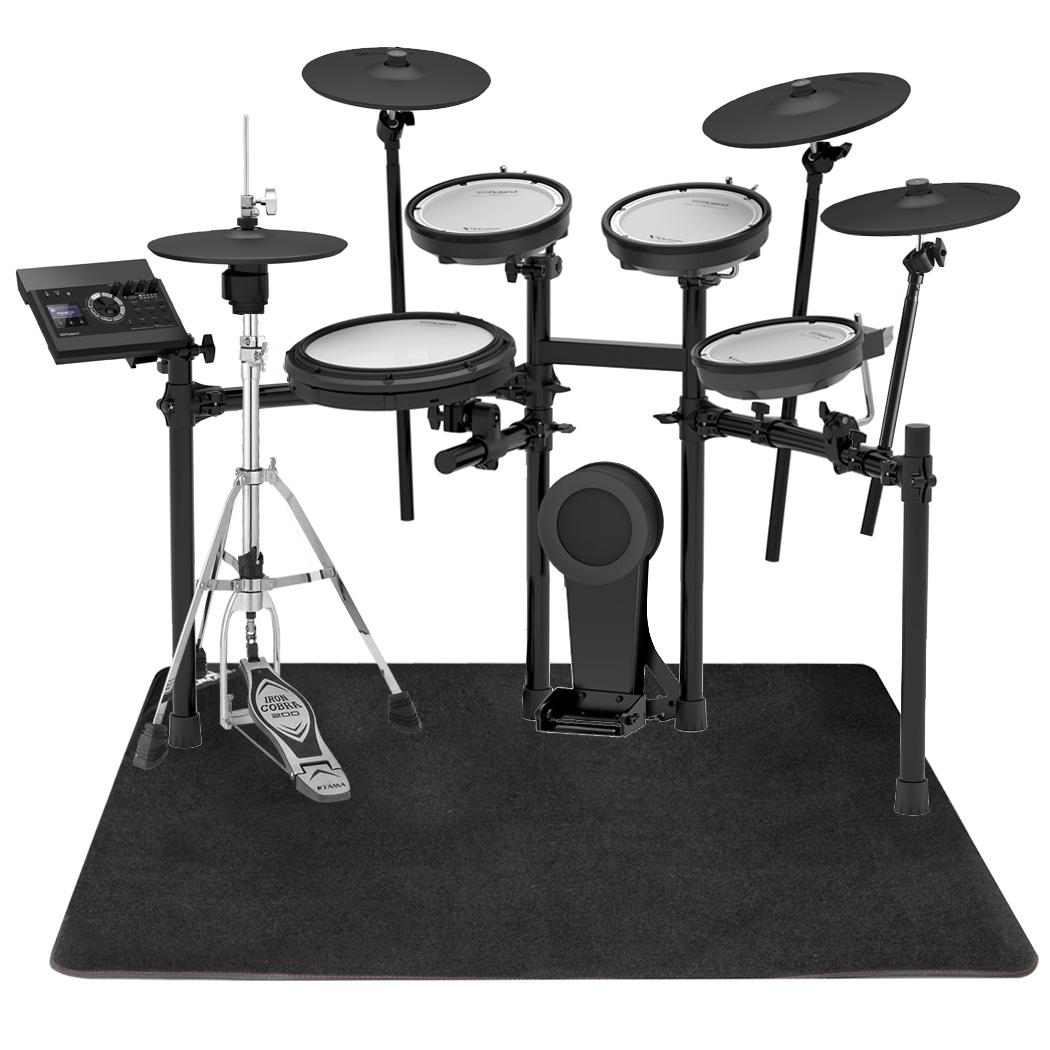 【今なら在庫あります】Roland 電子ドラム TD-17KVX-S TAMAハイハットスタンドとマットセット【YRK】