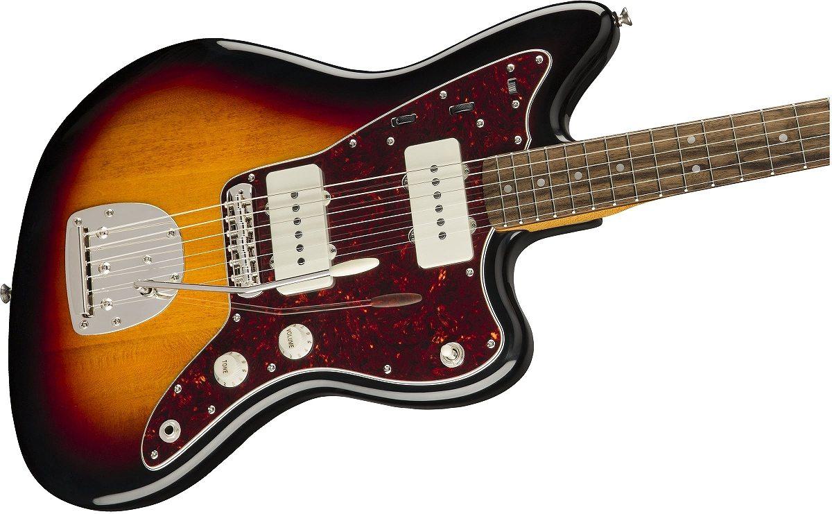 Squier / Classic Vibe 60s Jazzmaster Laurel Fingerboard 3-Color Sunburst スクワイヤー《純正バレットチューナープレゼント!/+621153790》