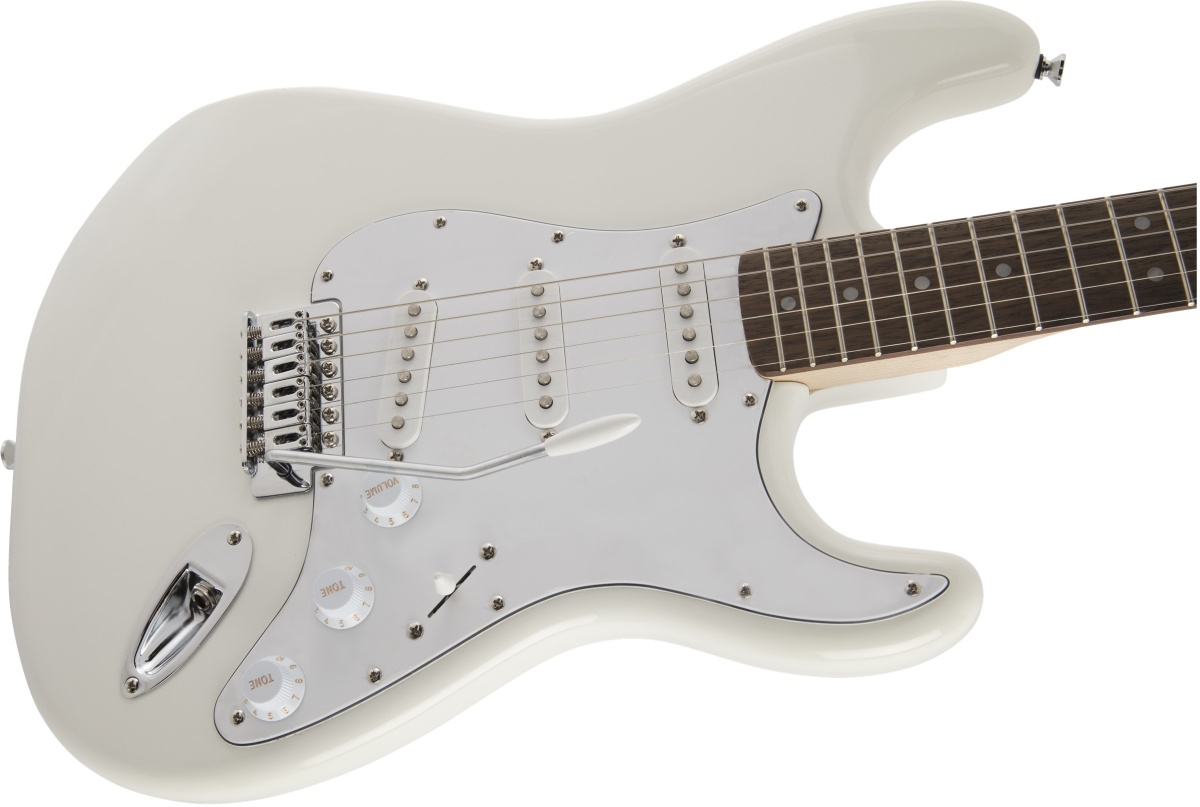 Squier by Fender / Affinity Stratocaster Laurel Fingerboard Olympic White【限定カラー】