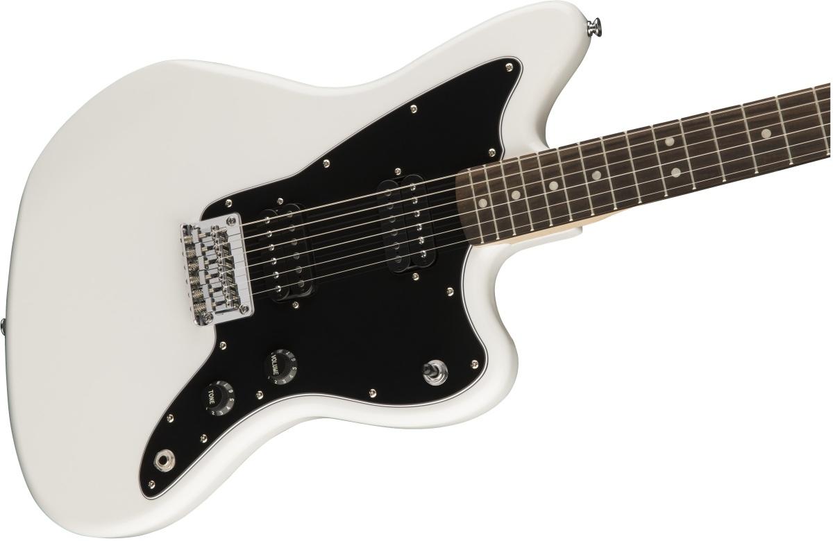 【タイムセール:29日12時まで】Squier by Fender / AFFINITY SERIES JAZZMASTER HH Arctic White スクワイヤ《純正バレットチューナープレゼント!/+621153790》