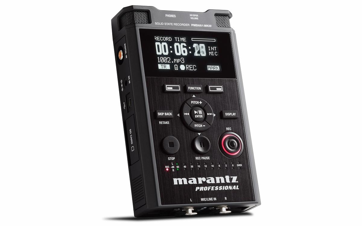 Marantz Professinal マランツ / PMD661 MKIII ポータブルレコーダー【お取り寄せ商品】