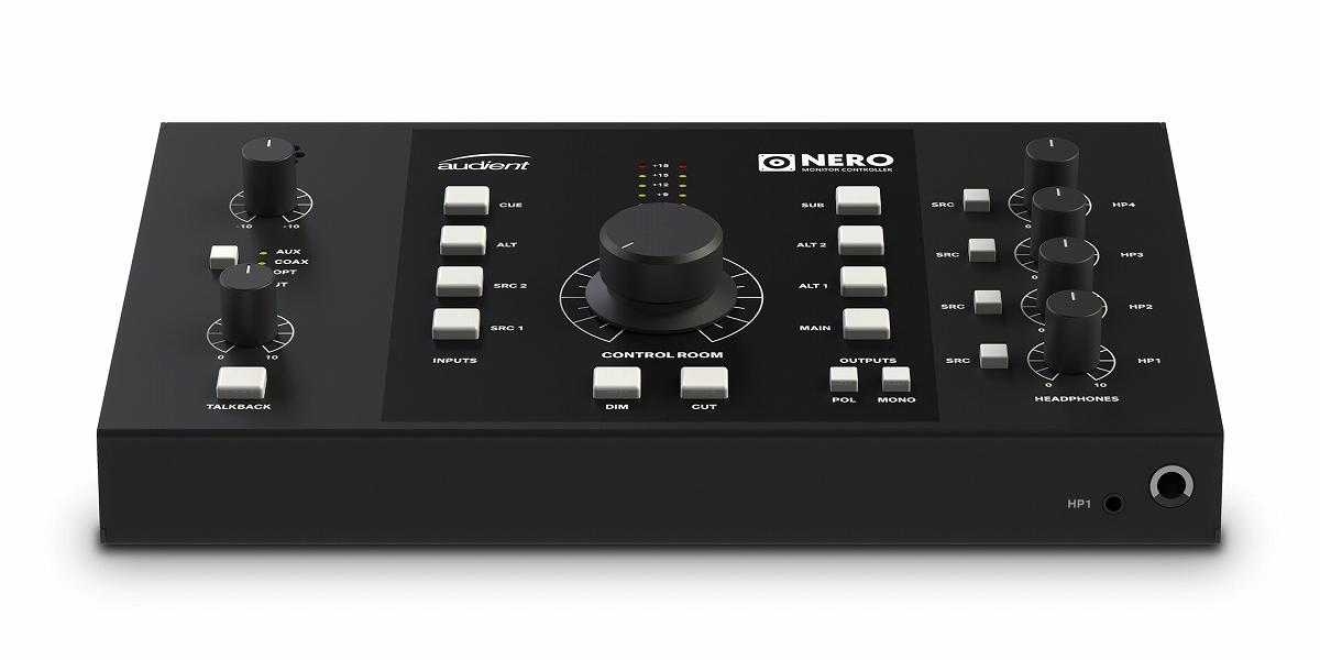audient オーディエント / NERO デスクトップ・モニター・コントローラー【お取り寄せ商品】