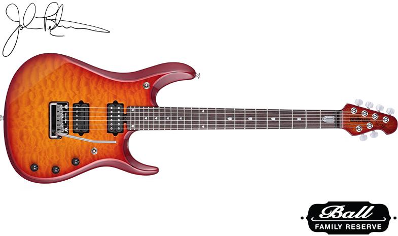 MUSIC MAN / JP6 BFR Cherry Burst Quilt ミュージックマン エレキギター ジョン・ペトルーシ・シグネイチャー 【お取り寄せ商品】