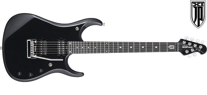 MUSIC MAN / JPXI-6 Onyx ミュージックマン エレキギター ジョン・ペトルーシ・シグネイチャー 【お取り寄せ商品】