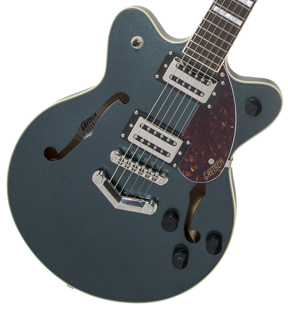 Gretsch / G2655 Streamliner Center Block Jr. with V-Stoptail Gunmetal グレッチ 【WEBSHOP】
