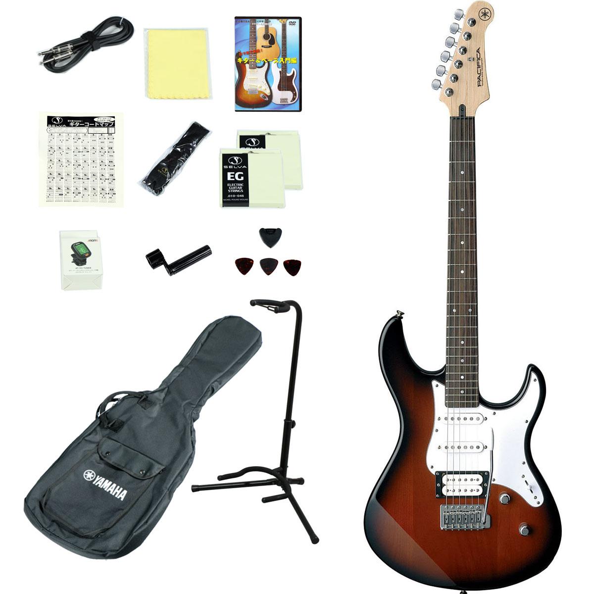YAMAHA / PACIFICA112V OVS(オールドバイオリンサンバースト) 【エレキギター14点入門セット】 ヤマハ PAC112V PAC-112V パシフィカ 初心者【YRK】《+811175700》