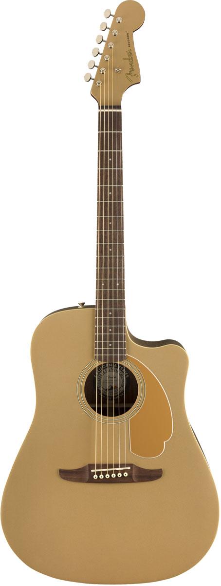 【増税前タイムセール:30日12時まで】Fender Acoustic / Redondo Player Walnut Fingerboard Bronze Satin フェンダー アコースティックギター エレアコ【YRK】