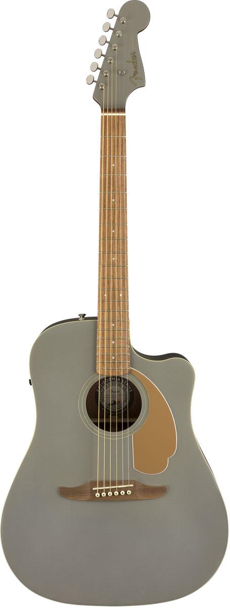【タイムセール:29日12時まで】【在庫有り】 Fender Acoustic / Redondo Player Walnut Fingerboard Slate Satin アコースティックギター エレアコ 【YRK】【新品特価】
