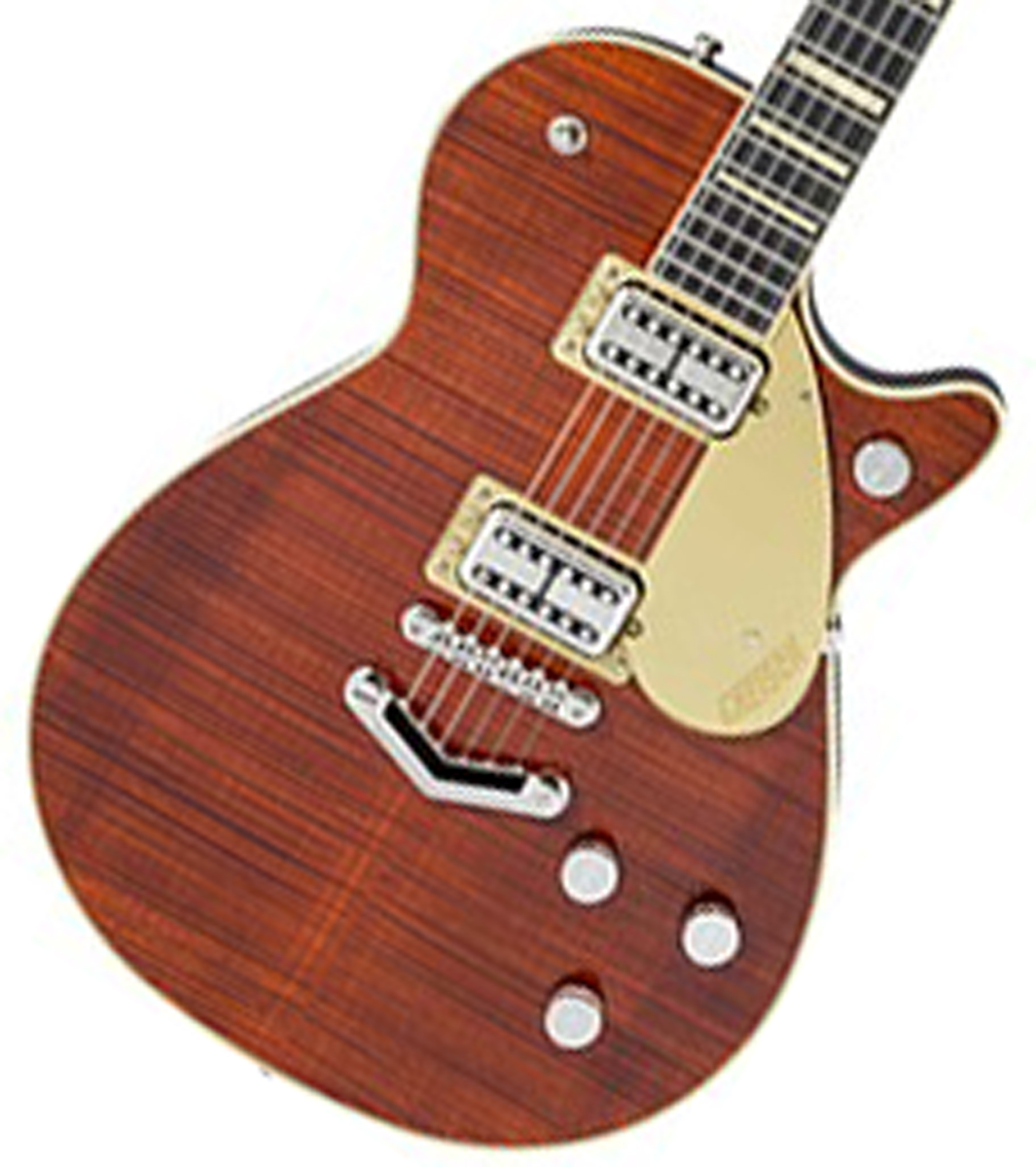 Gretsch / G6228FM Players Edition Jet BT with V-Stoptail Bourbon Stain グレッチ 【WEBSHOP】