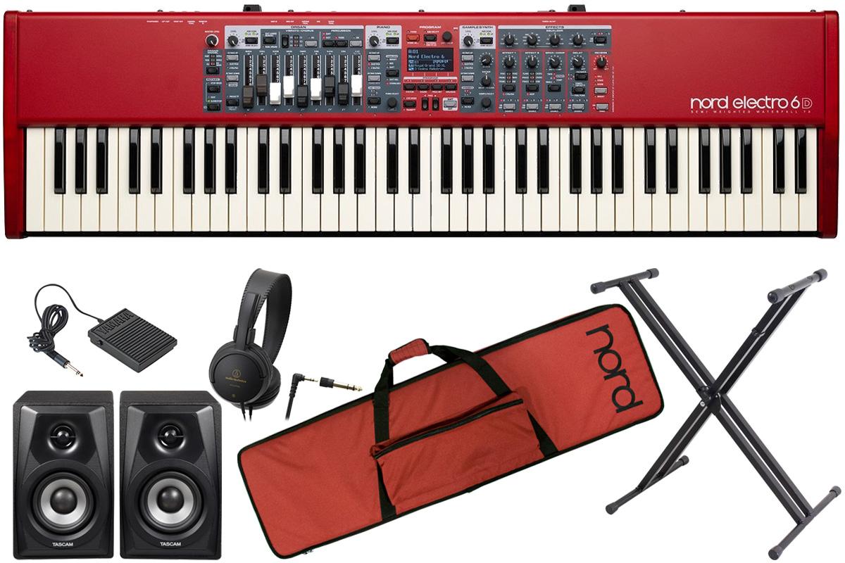 Clavia クラヴィア / nord electro 6D 73【オプションセット!】73鍵盤ノードエレクトロ【YRK】