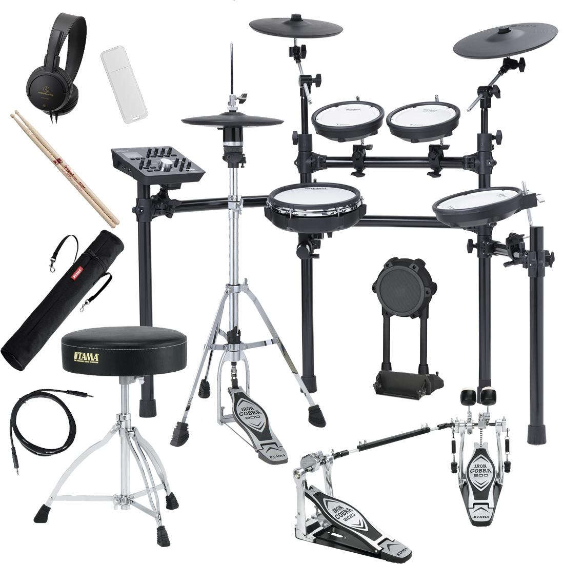 【Rolandキャッシュバック10000円対象】Roland Drum System TD-25K-S TAMAツインペダルスターターパック 電子ドラムセット【YRK】