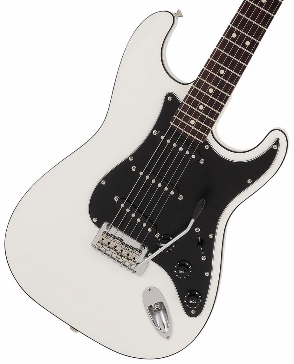 【タイムセール:29日12時まで】Fender / Made in Japan Aerodyne II Stratocaster Rosewood Fingerboard Arctic White【新品特価】《純正ケーブル&ピック1ダースプレゼント!/+661944400》
