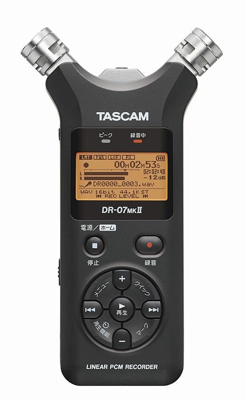 TASCAM タスカム / DR-07MK II VER2 リニアPCMレコーダー