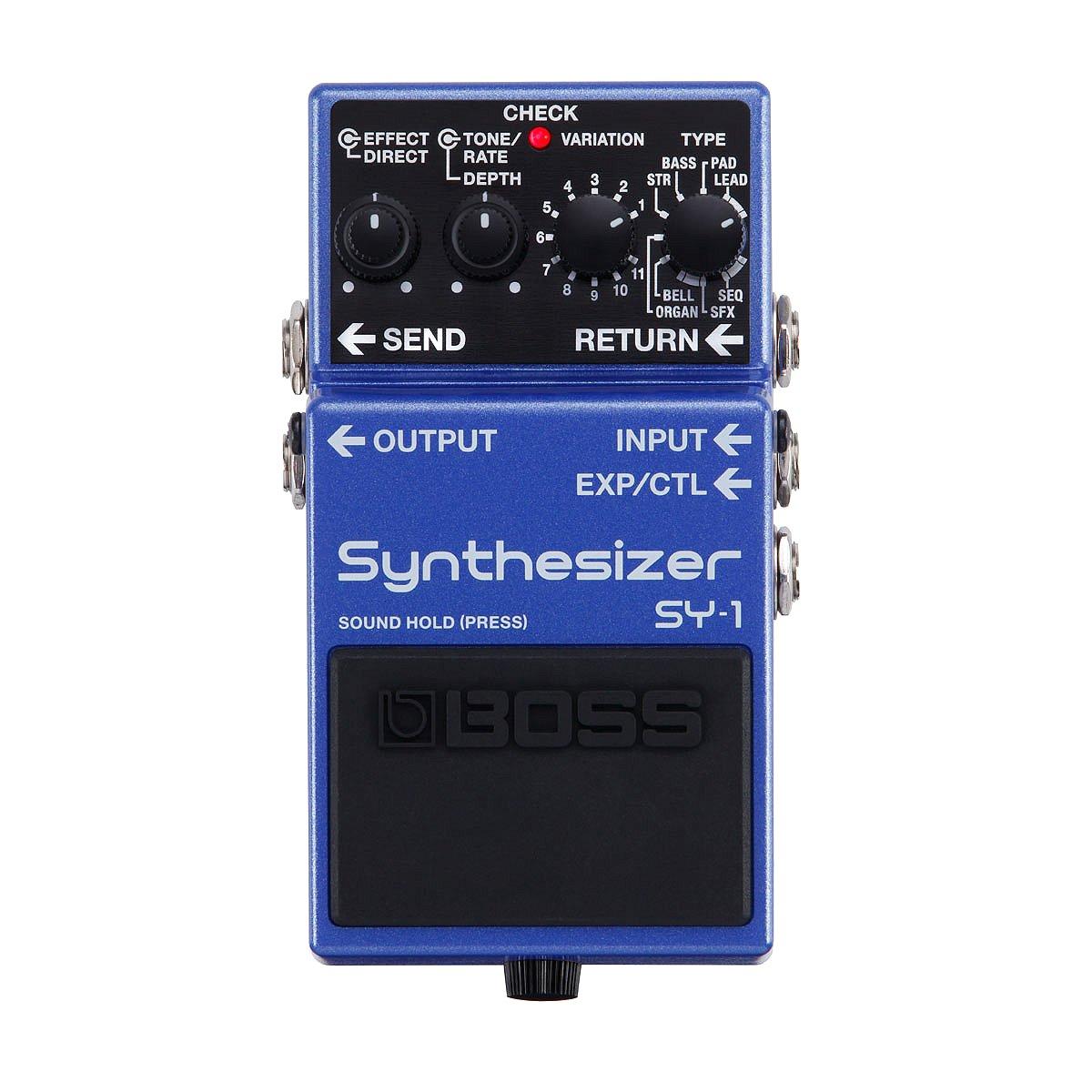 【ご購入特典つき!】【在庫有り】 BOSS / SY-1 Synthesizer ボス エフェクター SY1 【YRK】《/80-set12101/+811182200》