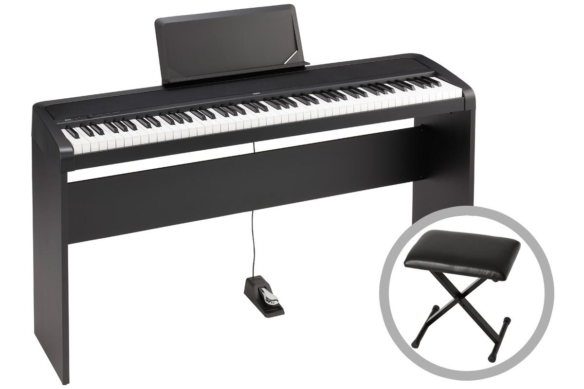 KORG コルグ / B2N【専用スタンド&椅子セット!】デジタル・ピアノ【PNG】