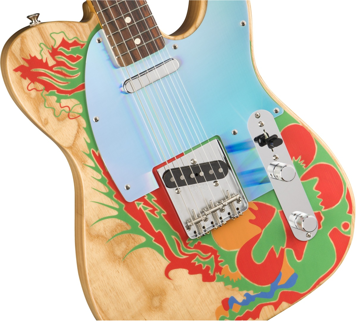 Fender / Jimmy Page Telecaster Rosewood Fingerboard Natural フェンダー ドラゴンテレキャスター