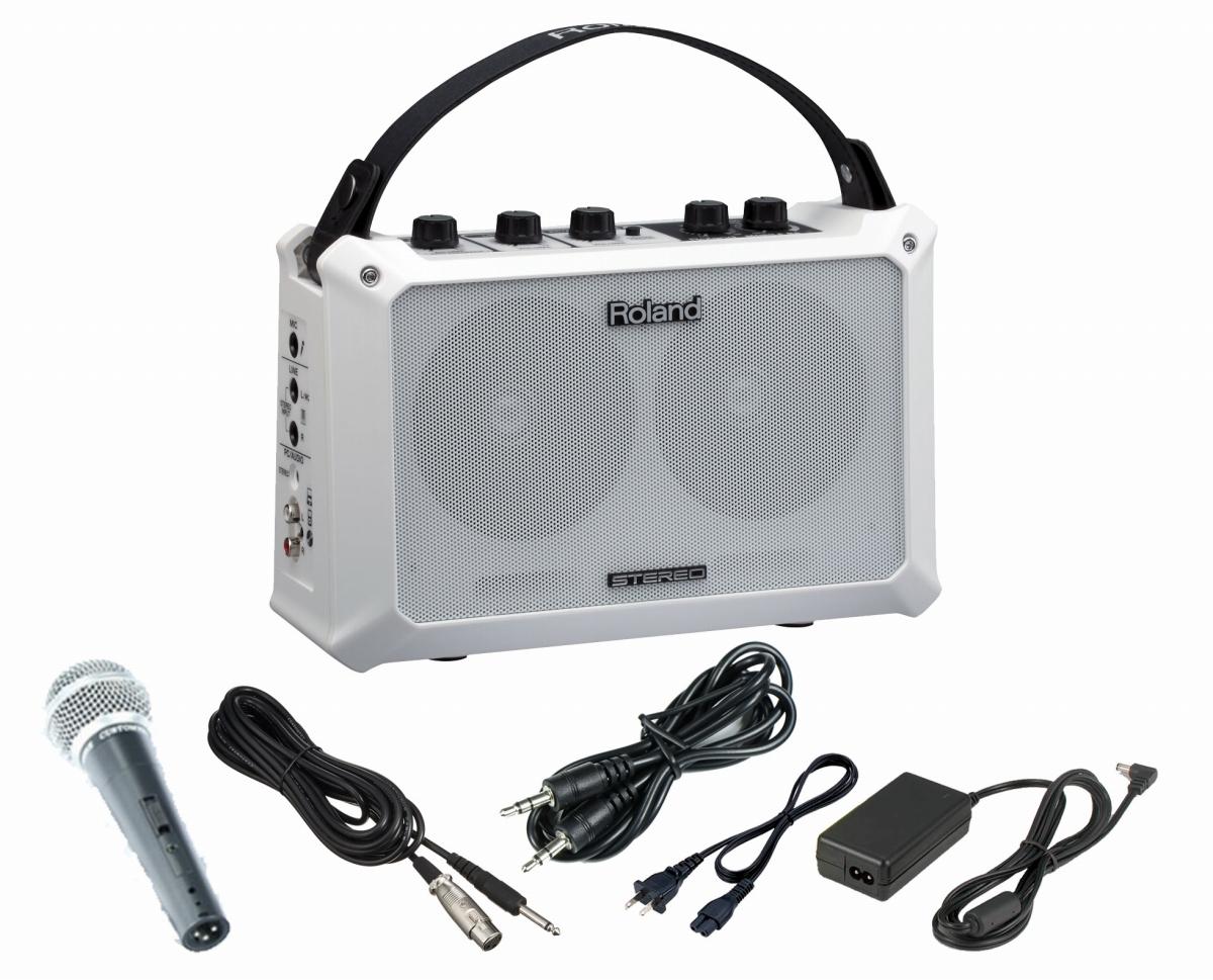 Roland / MOBILE BA ACアダプター・マイク・AUXケーブルセット