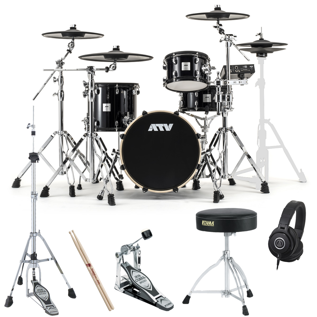 ATV / aDrums artist Standard Set ADA-STDSET 3シンバル TAMAスターターパック《予約注文/納期12月上旬頃予定》